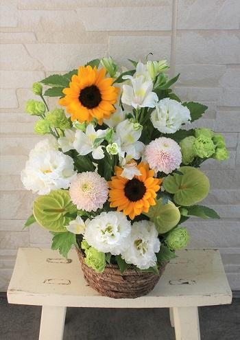 お盆 アレンジメント花