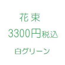 母の日花プレゼント白3300円