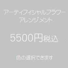 アーティフィシャルフラワー5500円