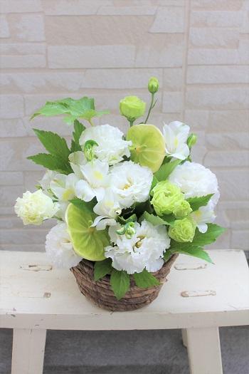 お盆お供え花