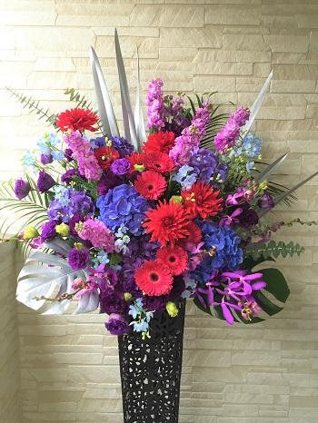 舞台お祝い花
