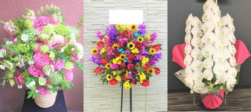 美容室の開店祝い花