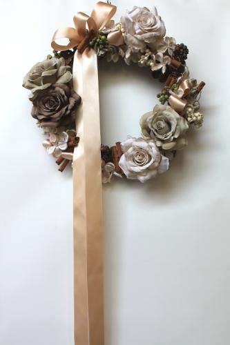 皮膚科開院祝い花 リース