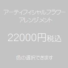 アーティフィシャルフラワー22000円
